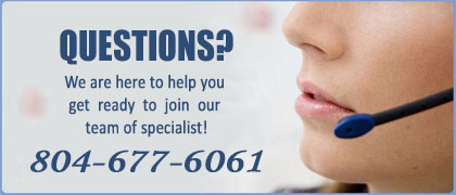 Call 804-677-6061 for question about our CDS course.
