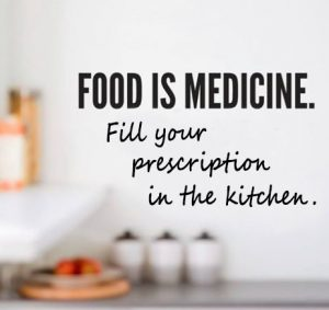 Telehealth can help you use food as your medicine. Fill your prescription in the kitchen!