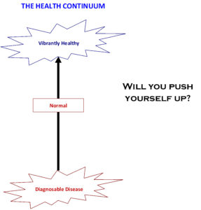 Health Continuum - Will You Push Yourself Up?