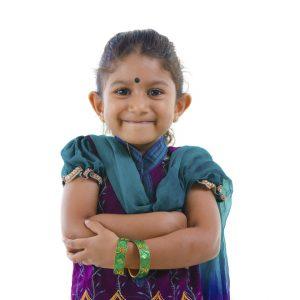 Happy Indian Child