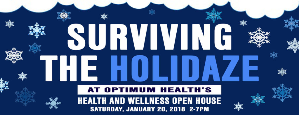 OPEN HOUSE - SURVIVING THE HOLIDAZE HOLIDAYS