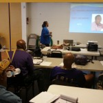 Tianya S. Clark Lecturing To Omega Men