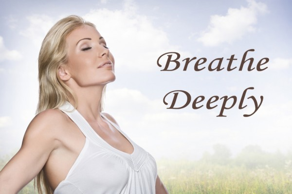breathe deeply with words