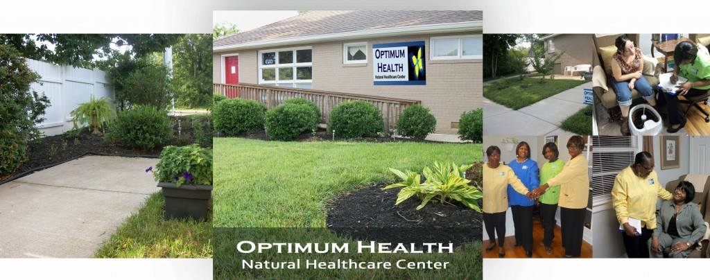 optimum health banner at top of page copy